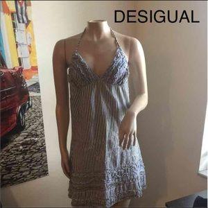 DESIGUAL halter dress in size 38 (8)