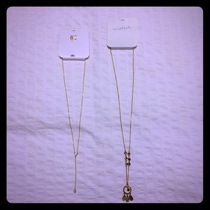 Set of 2 long necklaces