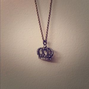 Juicy Couture Classic Crown Necklace