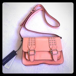 Rebecca Minkoff Handbags - Studded Coral Rebecca Minkoff Purse 👛