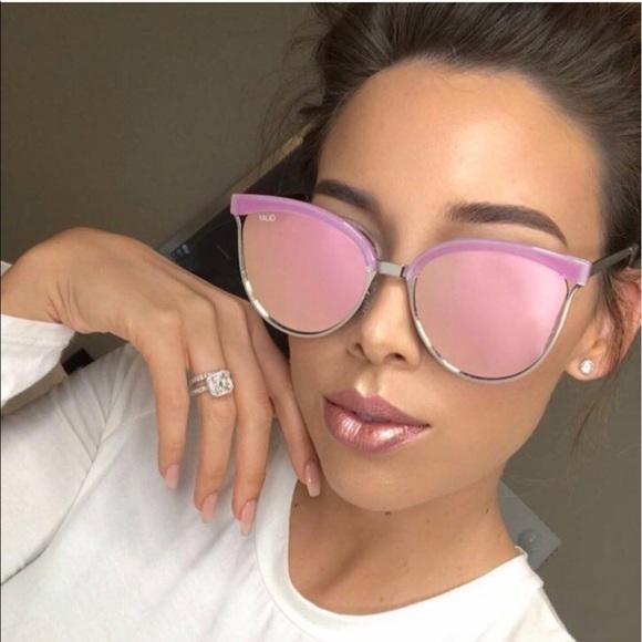1d502694f0ac6 Quay Australia stardust pink sunglasses