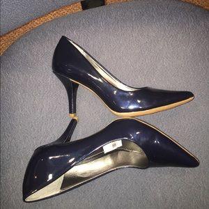 Alfani Shoes - NWT Alfani patent blue shimmer size 6 pumps