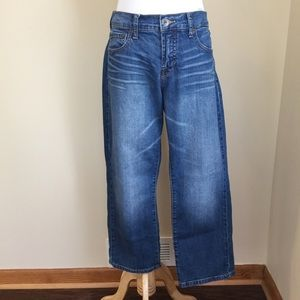 Lucky Brand Denim - Lucky Brand Easy Rider cropped jeans sz 8