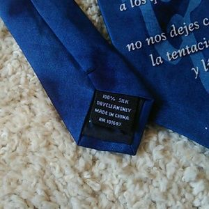 eagle neckwear Other - The Lord's Prayer tie in Spanish! Listing for all