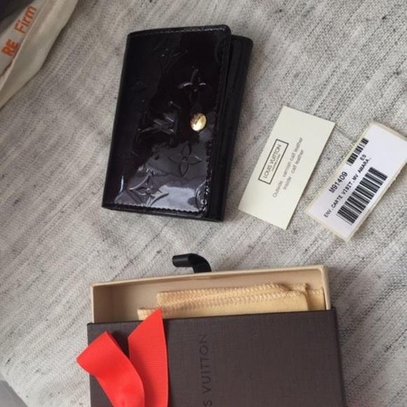 Louis vuitton accessories lv business card holder poshmark lv business card holder colourmoves