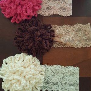 me Accessories - Baby crochet headbands