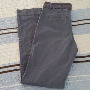 Old Navy grey striped pants