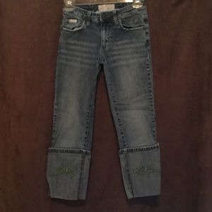 Baby Phat Pants - AMAZING Baby Phat Ultra Roll Capri jeans Size 3