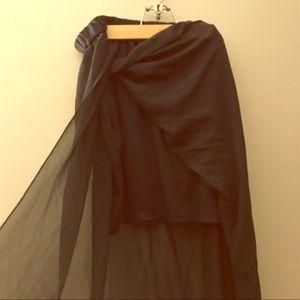  Pure Energy Chiffon Maxi Skirt