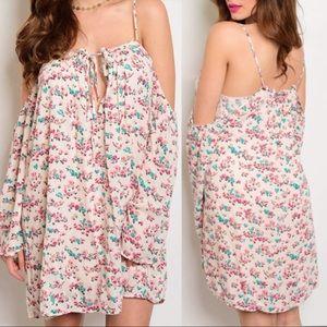 Dresses & Skirts - S•M•L Floral off the shoulder dress