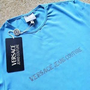 Versace Tops - NWT Authentic Versace Crystal Top