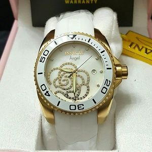 Invicta  Accessories - Weekend sale,Invicta Crystal ladies white watch