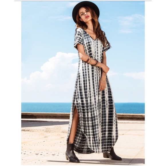 coming soon the lala boho tie dye maxi dress m from sarah suggested user co host 39 s closet on. Black Bedroom Furniture Sets. Home Design Ideas