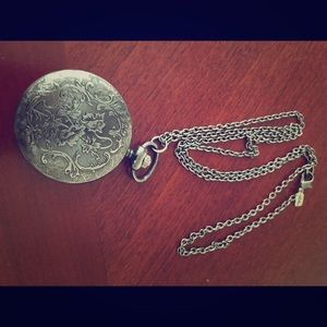 Rachel Jewelry - Pocket watch necklace.