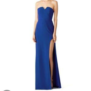 Halston Heritage Dresses & Skirts - Halston Heritage Royal Blue Gown