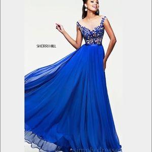 Sherri Hill Dresses & Skirts - Sherri Hill 11151 formal prom. Royal Blue Size 4