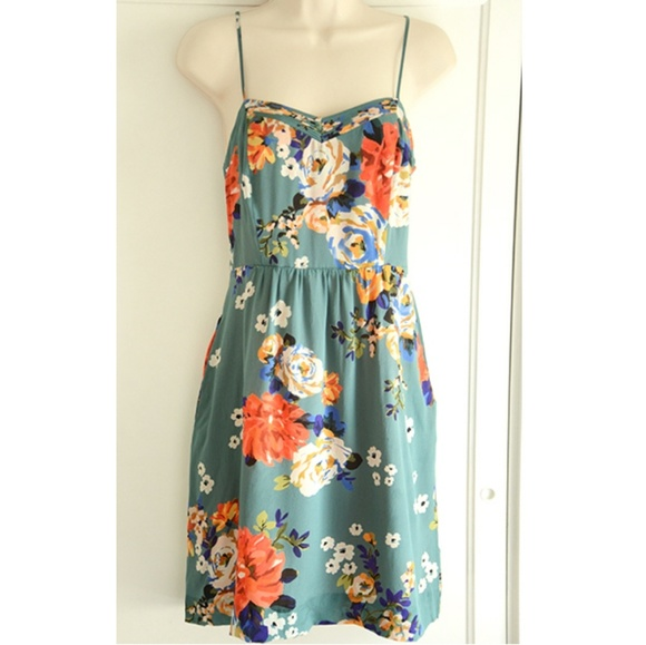 5ad486a636ee Anthropologie Dresses & Skirts - Moulinette Soeurs Verdant Slip Dress -  Beautiful!