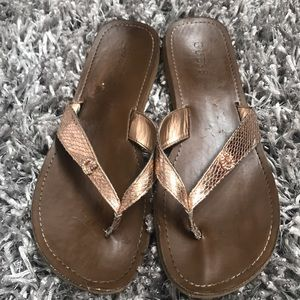 Guess Shoes - Guess Flip Flops Women's Sandals 10.5 Rose Gold