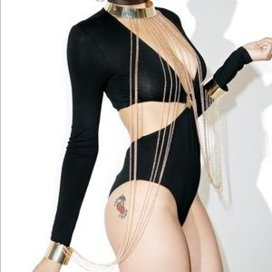 Hellfire  Bodychain from Dollskill