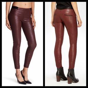Blank NYC Pants - Deep Burgundy Leggings