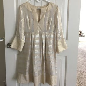 Diane vonFurstenberg Gold Dress