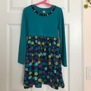 Girls sweater dress size 8