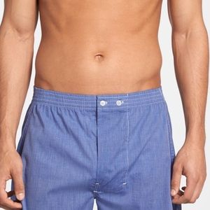 Nordstrom Other - Nordstrom woven boxer classic fit 3 packs sz 44