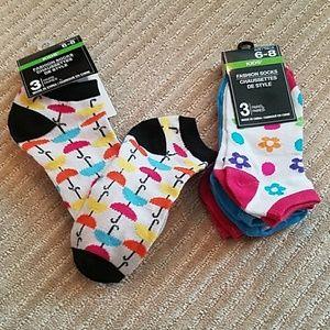 Other - 🔴3/$20 Girls socks