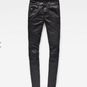 G-Star Denim - G-Star 5620 Custom Mid Skinny Coated Denim