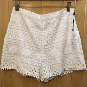 """Pants - Cupcakes and Cashmere """"Erin Lace Shorts"""""""