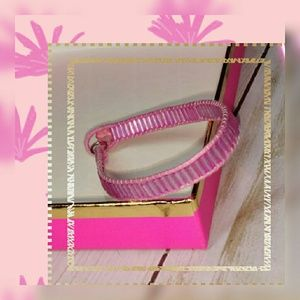 Other - 🔹NWT {Boutique} Passion Pink Crystal End Bracelet