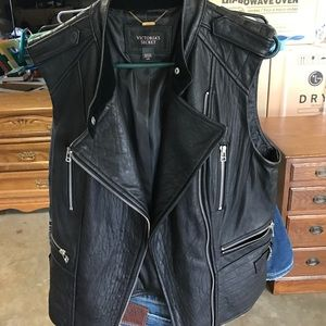 Victoria's Secret Leather Vest
