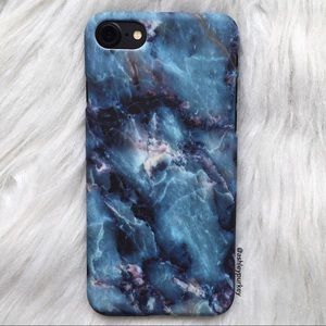 B-Long Boutique Accessories - ❤️SALE❤️blue galaxy marble iPhone 6/6s 7 Plus case