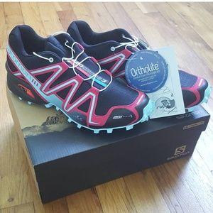 Salomon Shoes - NWT! SALOMON Speedcross Black Pink Lotus 8.5