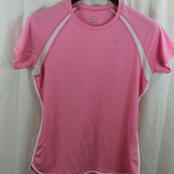 50% off Nike Other - GIRLS NIKE PINK DRI-FIT ATHLETIC T ...