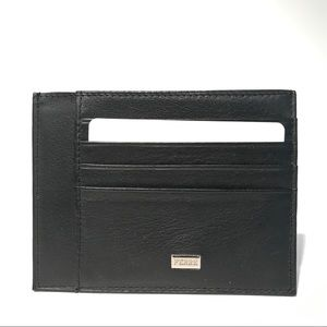 Gianfranco Ferre Other - Ferre Leather Slim Cardholder Black NIB