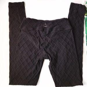 Beyond Yoga Pants - ➡Beyond Yoga Black Quilted Leggings⬅