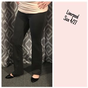 Liverpool Jeans Company Pants - Liverpool Kimberly bootcut ponte pant.