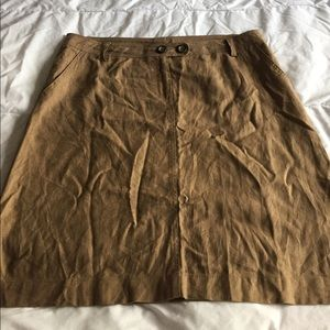 super cute linen blend bcbg maxazria skirt size 10