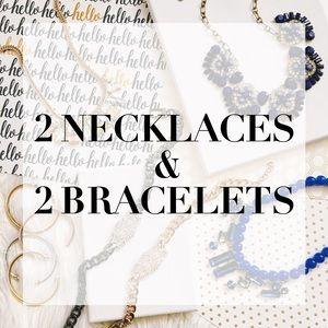 Jewelry - 2 NECKLACE & 2 BRACELET SALE! ❤️✨
