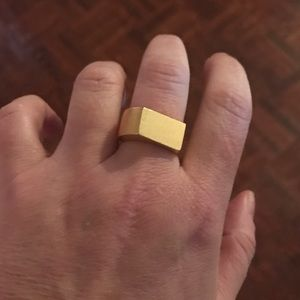 Madewell Jewelry - MADEWELL geometric ring