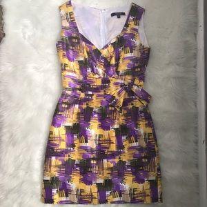 Alex Marie Dresses & Skirts - Alex Marie • Beautiful Yellow and Purple Dress