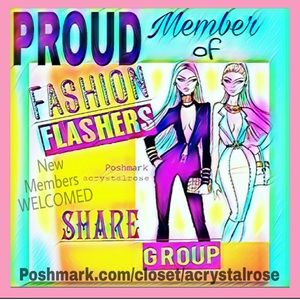 Proud member of the group FASHION FLASHERS 