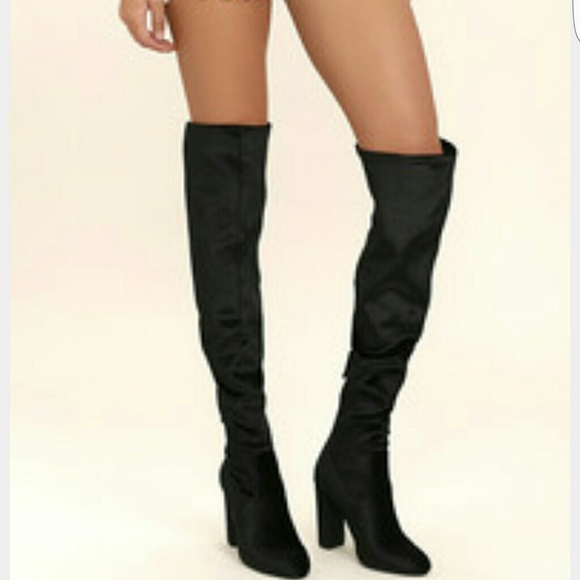 8c9ae8fad9c New Steve Madden emotions thigh high boots