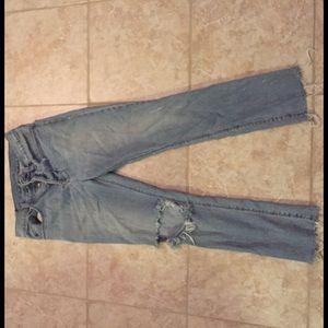 Ksubi Other - Distressed Ksubi jeans