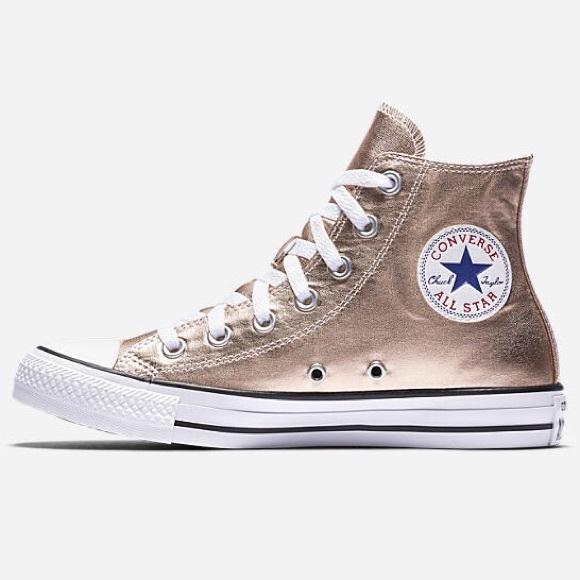 d94c1826b54 56% off Converse Shoes - Converse all star Chuck Taylor Metallic ...