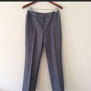 Lafayette 148 New York Pants - Size 2 Virgin Wool Blend Dress Pants