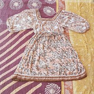 Wendy Bellissimo Dresses & Skirts - Festival Floral Empire Waist Maternity Dress M