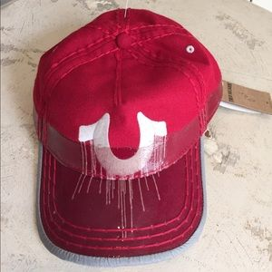 True Religion Other - NWT True Religion Red Cap
