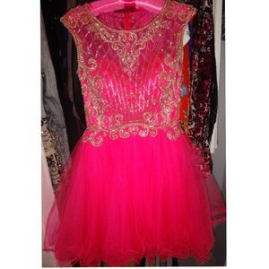 Dresses & Skirts - Hot Pink Cupcake Dress